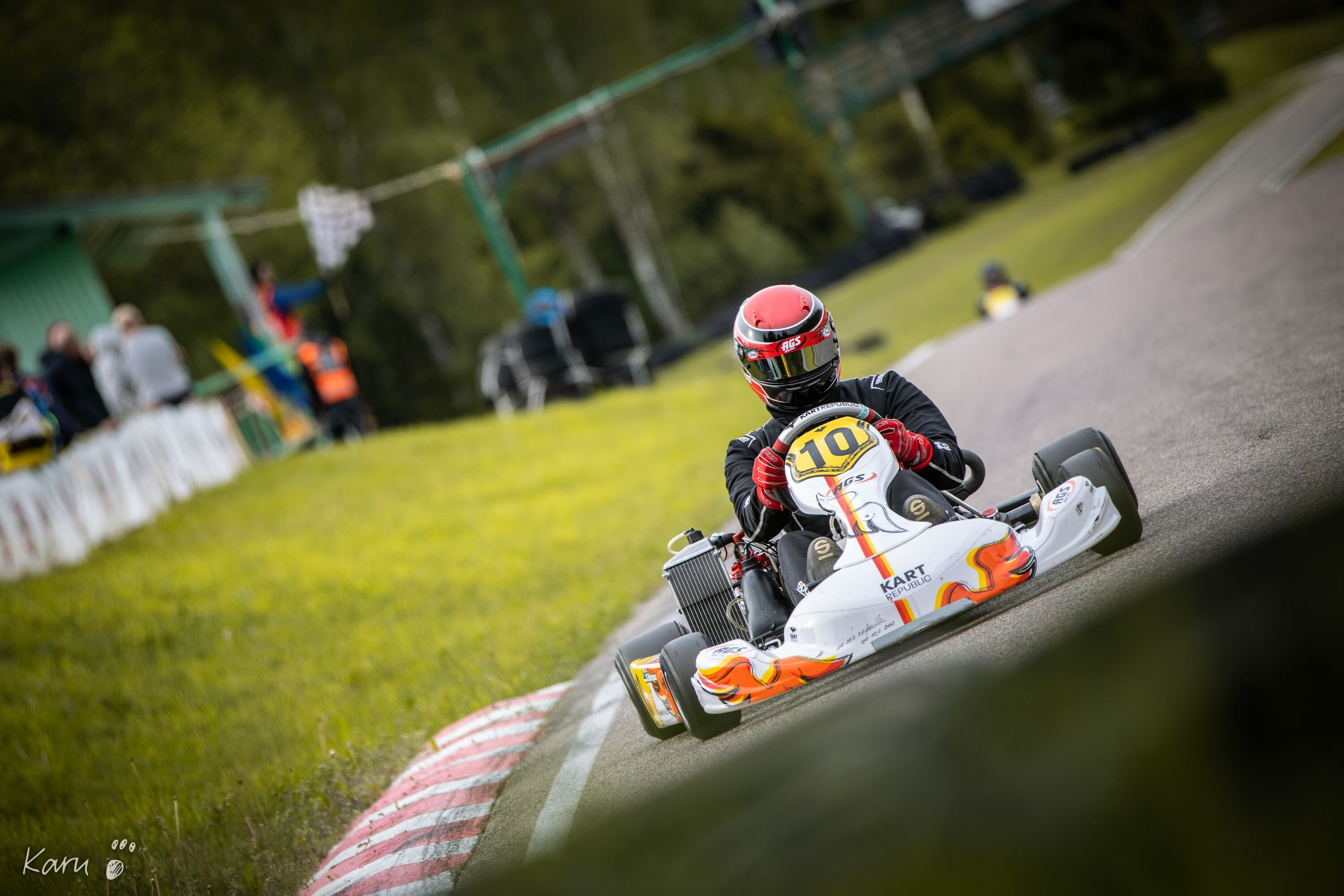 AGS Racing Kari Maripuu Rotax Senior Open