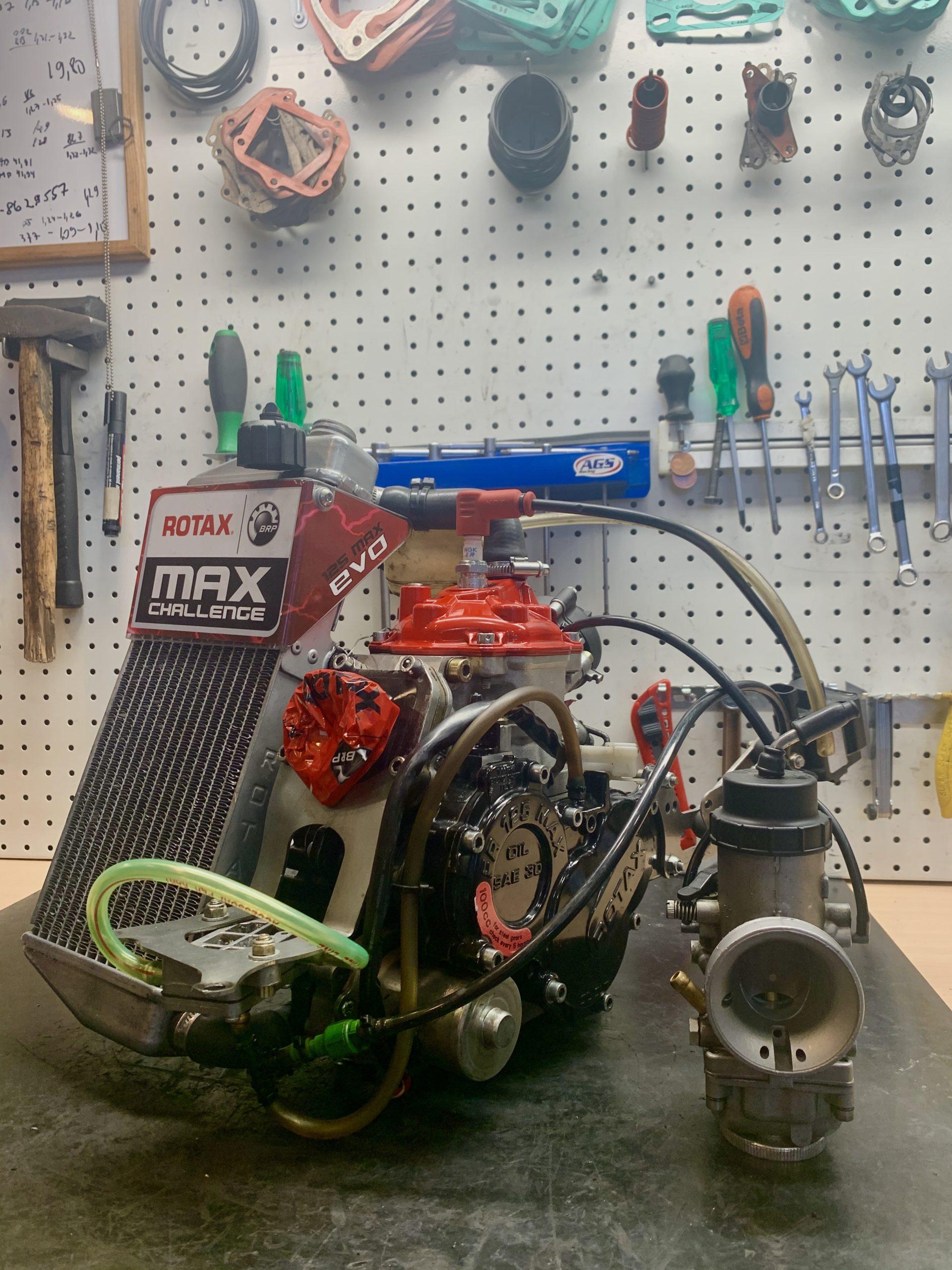 Rotax Max Senior mootor