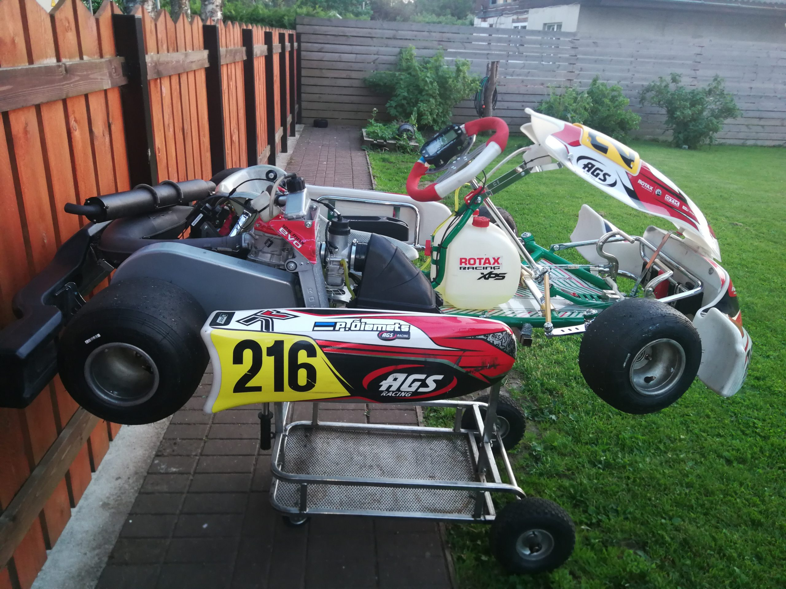 Rotax Junior Evo 3 + Tony Kart Racer 401R
